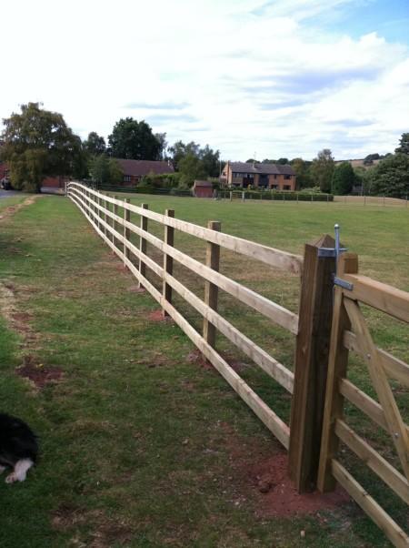 fence bewdley