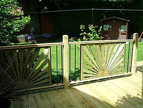decking worcestershire